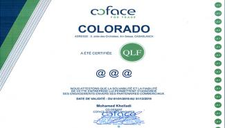 COLORADO DÉCROCHE LE TRIPLE A DE COFACE