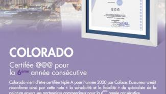 COLORADO Certified @@@ for the sixth consecutive year