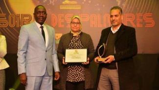 Colorado reçoit le prix du Jury lors des Trophées de la prévention