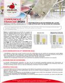 Communiqué financier : résultats annuels 2020