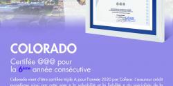 COLORADO Certifée @@@ pour la 6ème année consécutive